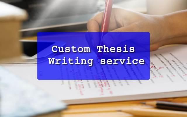 Custom-Thesis